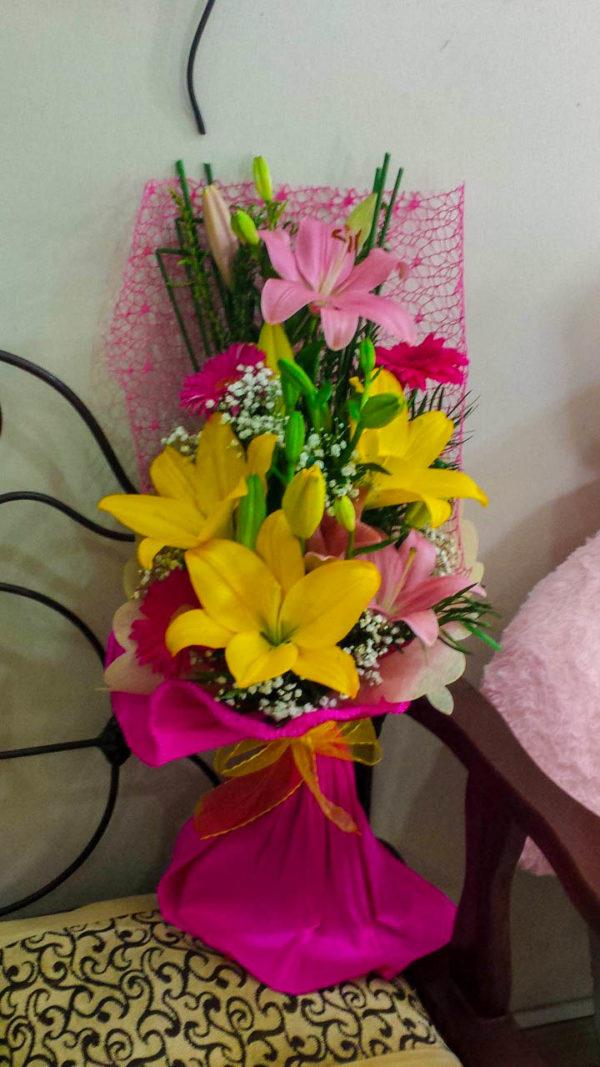 Bouquet con lilium
